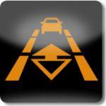 Adaptive Cruise Control (ACC) sistemi İzleme lambası (Sarı)