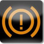 Fren arıza işareti (Sarı)