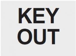 Key out lambası