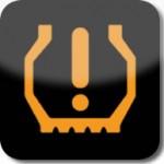 Lastik basıncı düşük uyarı lambası