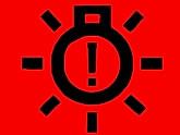 Opel ampulü değiştirme ikaz lambası- arızalı bir ampul tespit edildiğinde kırmızı renkte yanar