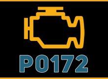P0172 arıza kodu