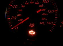 Motor arıza lambası