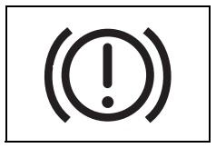 Fren sistemi uyarı işareti