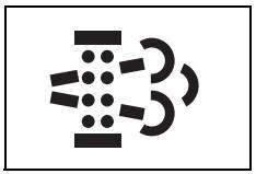 DPF sistemi uyarı işareti