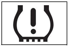 Lastik basıncı uyarı işareti