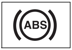 ABS uyarı işareti