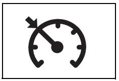 Sabit hız kontrol sistemi uyarı işareti