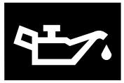 Yağ basıncı ikaz işareti