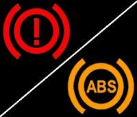 Fren ve ABS işaretleri