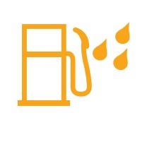 Dizel filtrede su işareti