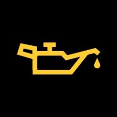 Motor yağı seviye ışığı-sarı
